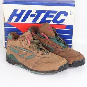 Vintage New Hi Tec Mens 8.5 Gt Rugged Hiking Boots